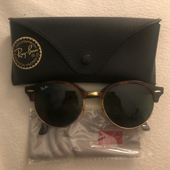 392a8bf87 Ray-Ban Accessories | Rayban Clubround Classic Sunglasses | Poshmark